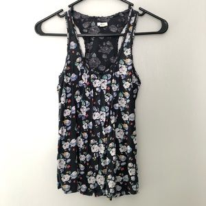 Aerie Floral Tank Top